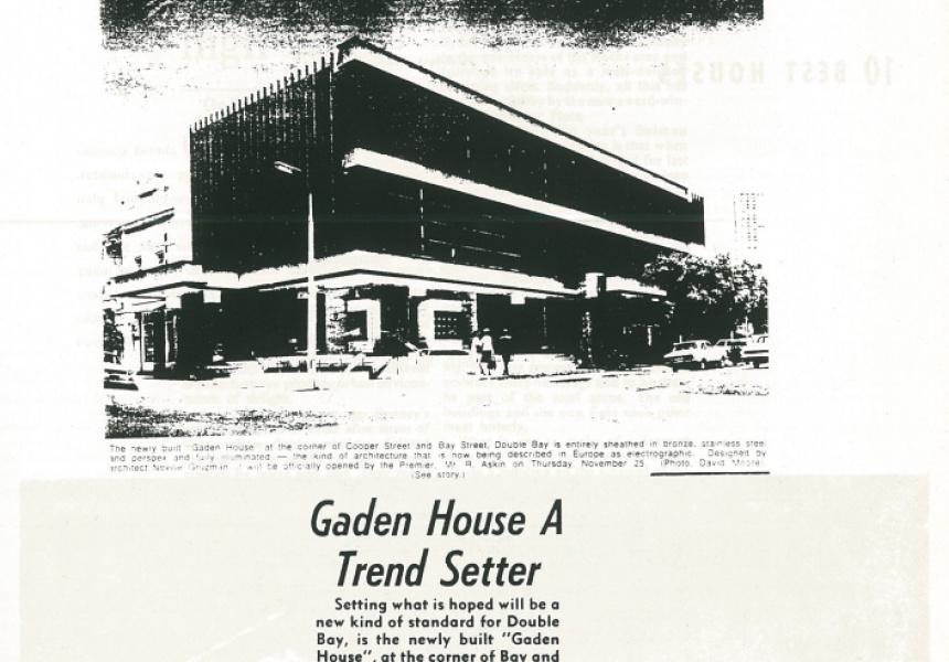 Wentworth Courier, 1971