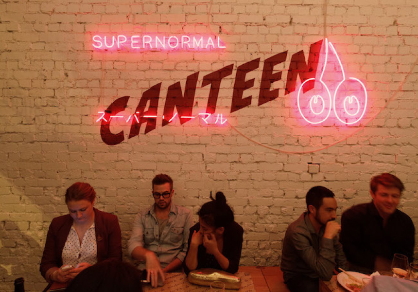 The Supernormal Canteen in Fitzroy