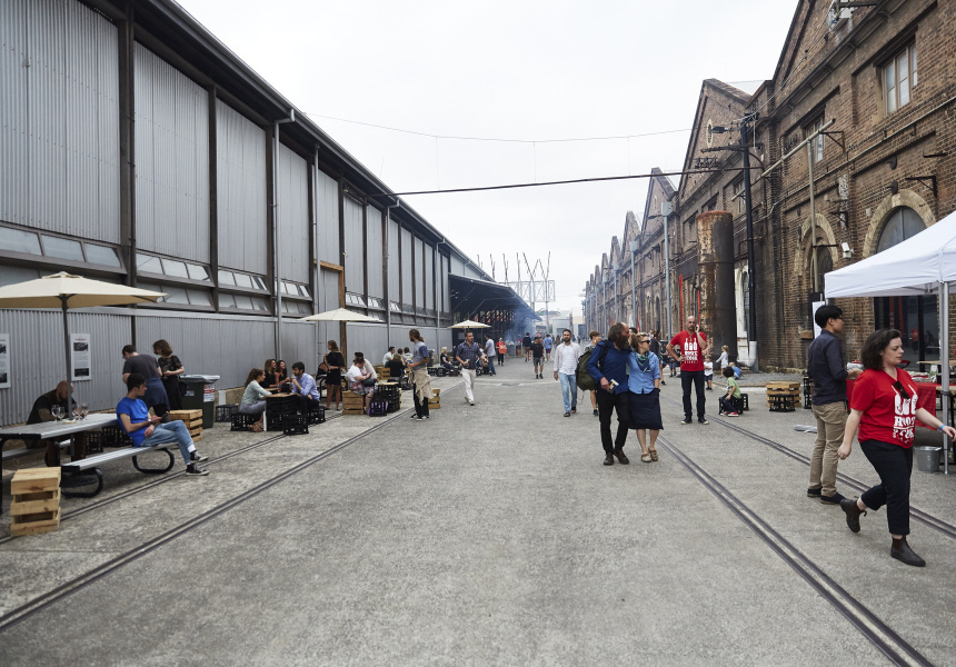 Rootstock, Carriageworks