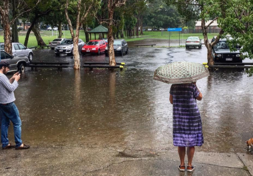 Flooding in Albion, Brisbane, March 2017
