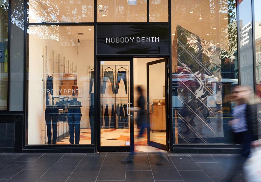 Nobody Denim Pop-In Store, The Strand Melbourne.