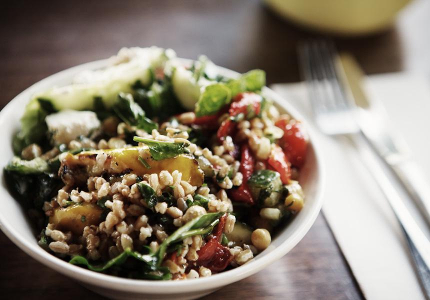 Salad at Brunswick St Alimentari