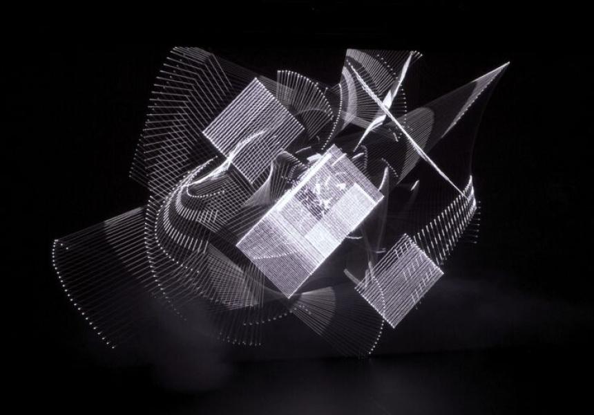 Complex Laser, Lumiere II, Robert Henke