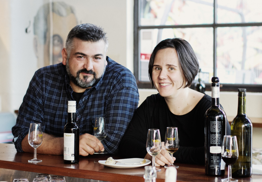 Frank and MoVida sommelier Liz Carey