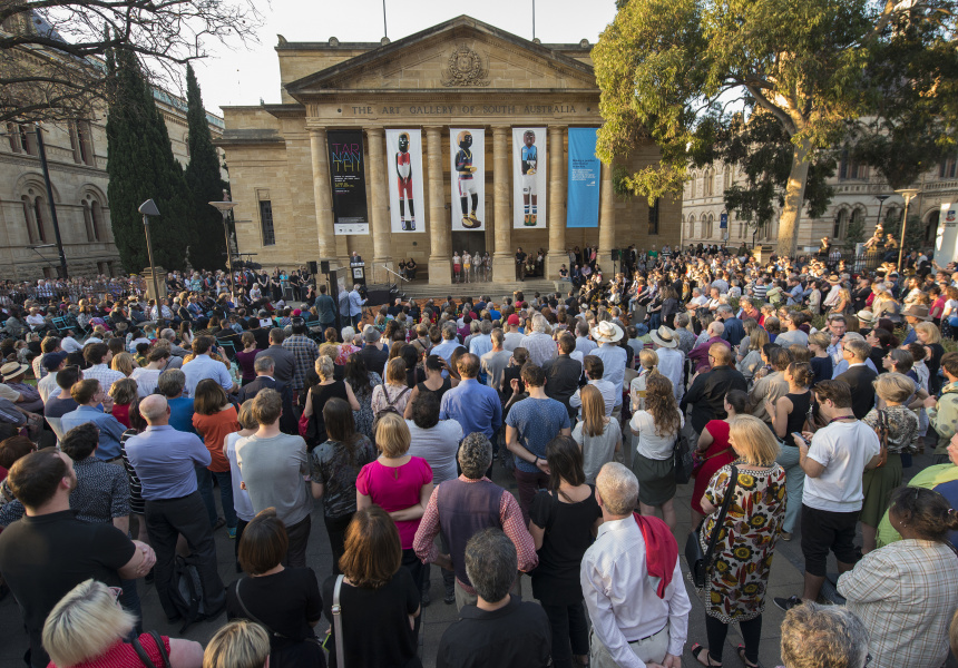 Tarnanthi 2015 launch, Art Gallery of South Australia