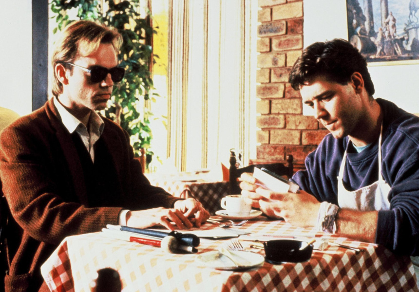 Hugo Weaving, with Russel Crowe, In Proof