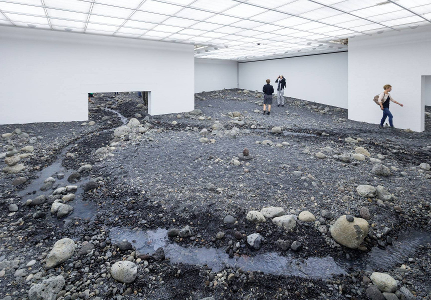 'Riverbed' (2014) by Olafur Eliasson