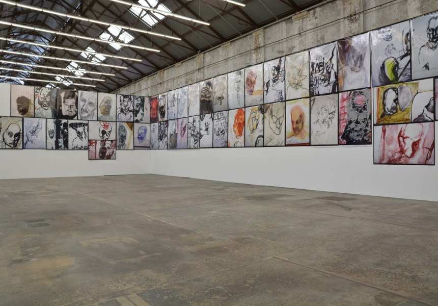 Easter Island, 2013. Installation view