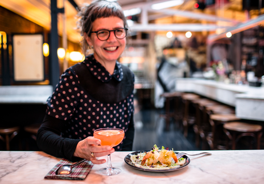 Karen Batson, Head Chef, Magic Mountain Saloon.