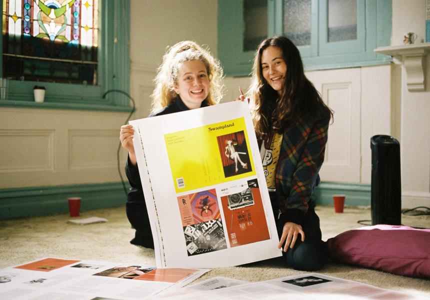 Deputy Editor Kelsey Oldham and Kimberley Thomson
