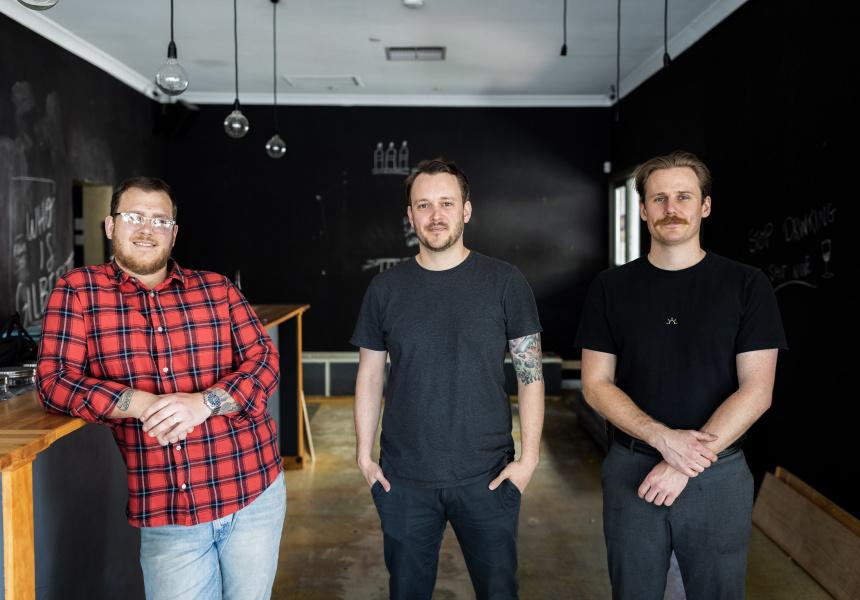 Wilson Shawyer, David Train and Jason Barber