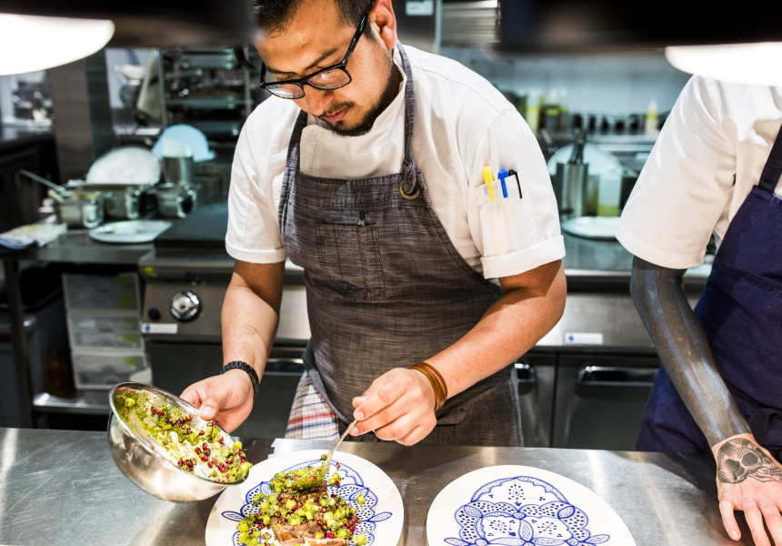 Hadiqa executive chef Danny Sanchez.