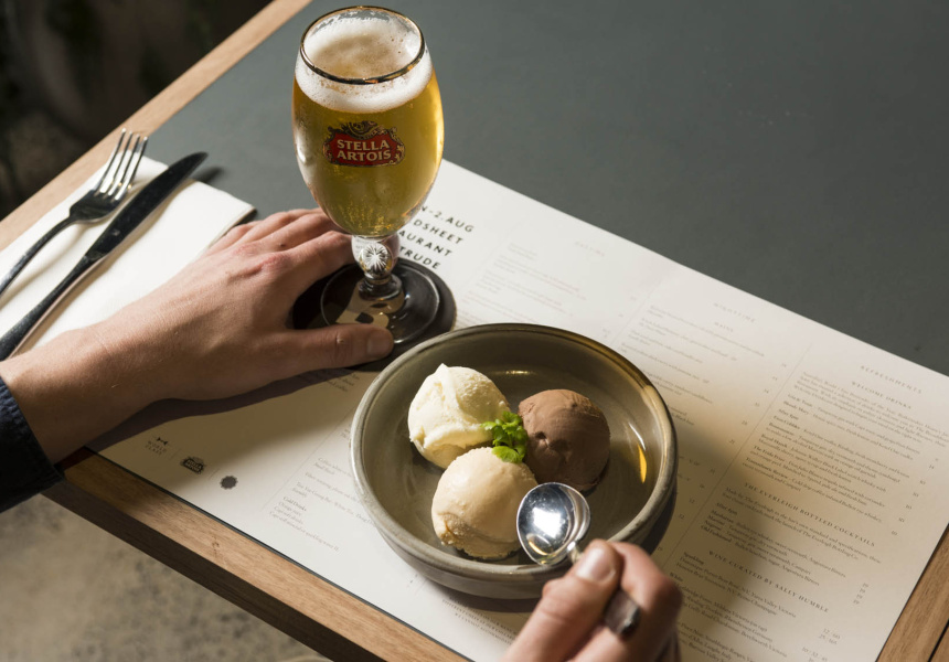 Stella Artois and Pidapipo's Salted Caramel Gelato