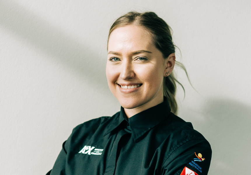 Young waiter one to watch, Sophie Gitterle