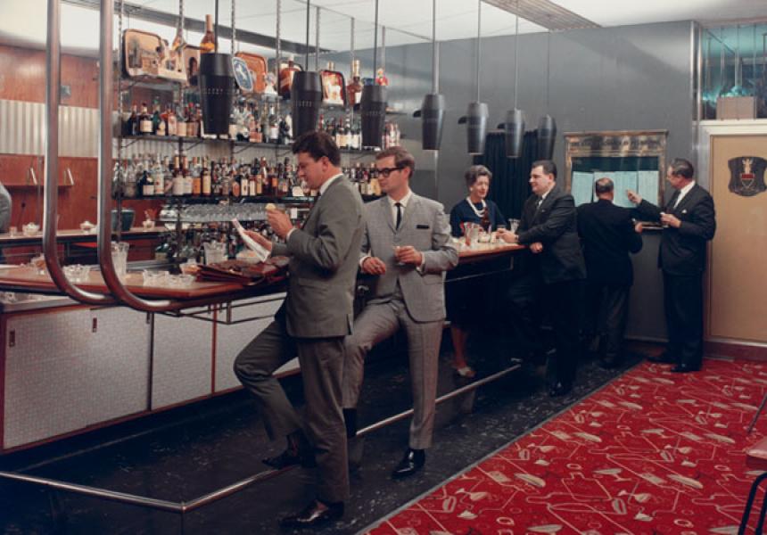Wolfgang Sievers, Club Bar, Menzies Hotel, Melbourne, 1965.