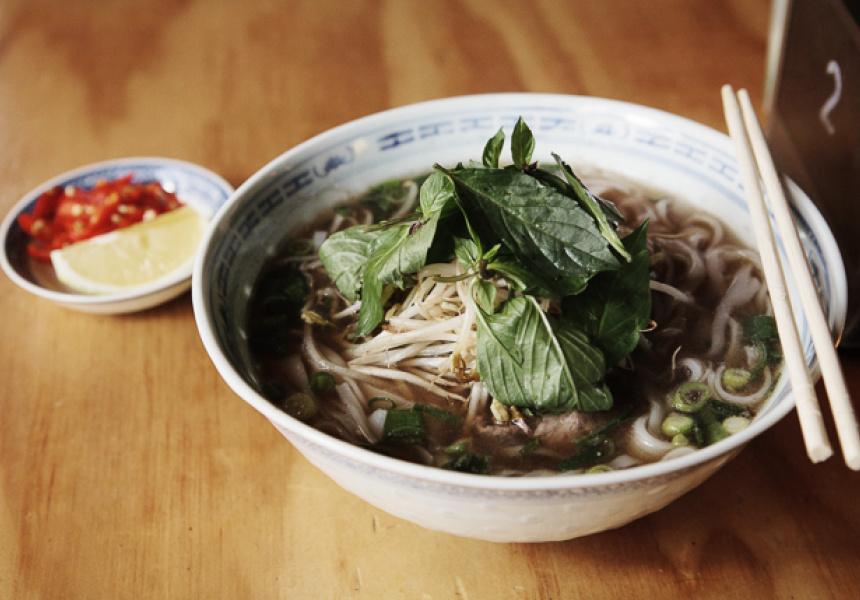 Wagyu Beef Pho, Misschu