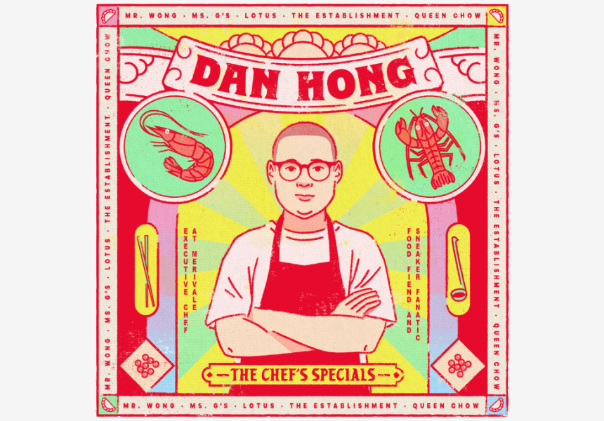 The chef's special by Dan Hong