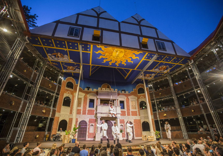A Full Scale Replica Of Shakespeare S Globe Opens This