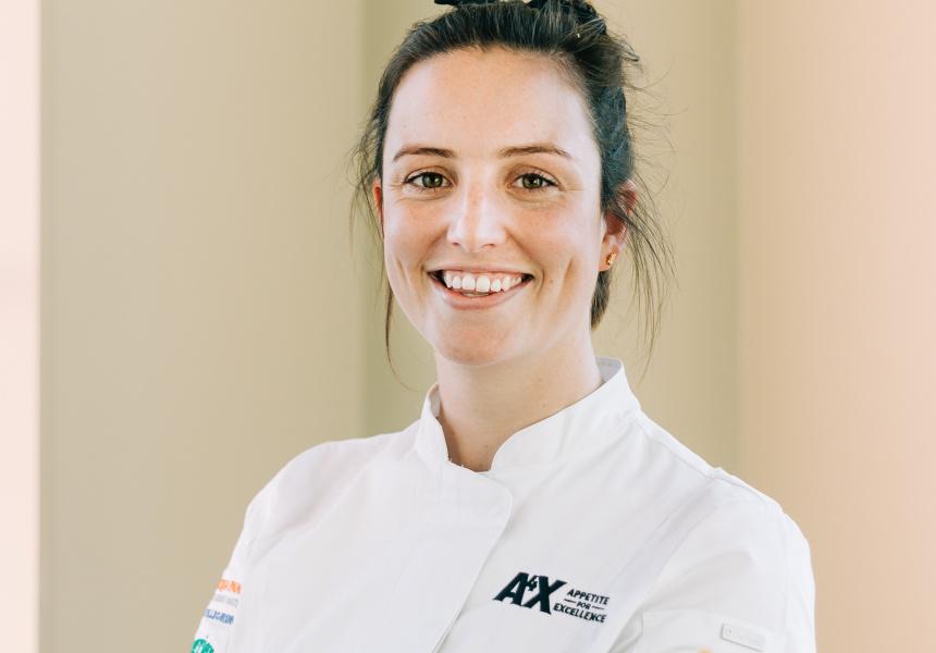 Young Chef winner, Bianca Johnston