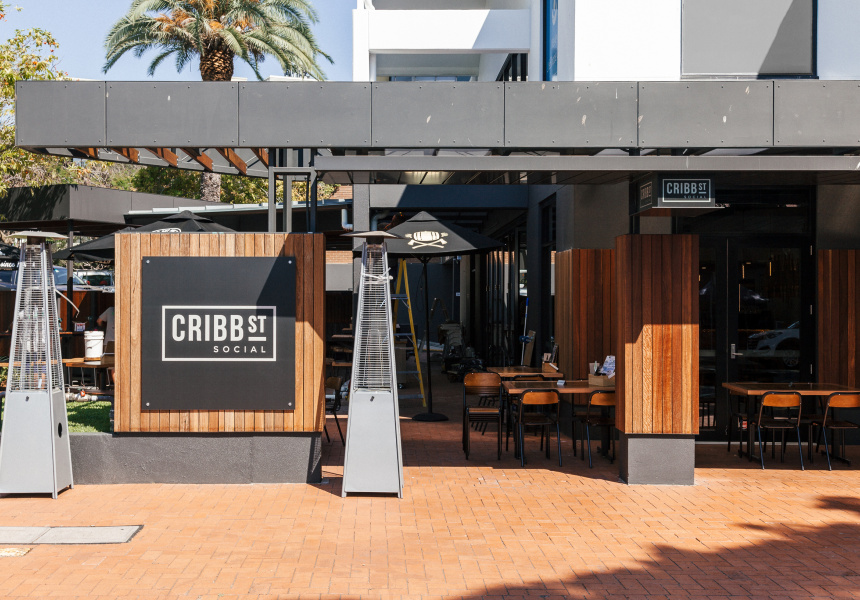 Cribb Street Social Broadsheet