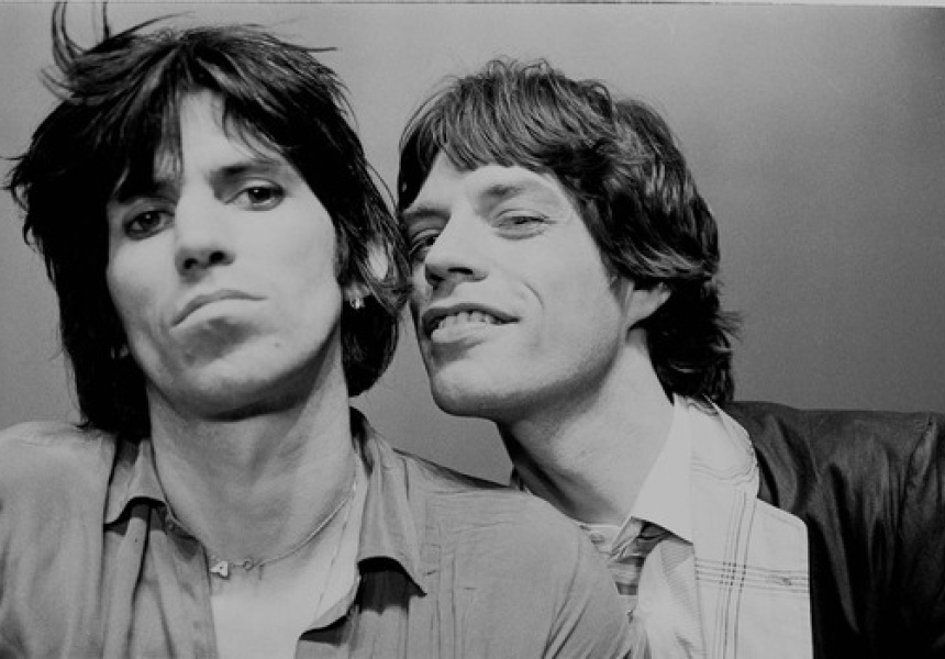Keith Richards and Mick Jagger, New York 1978 by Michael Putland