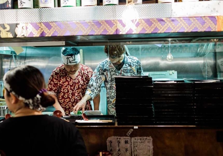 Japanese Ramen Restaurant Russell Street Melbourne