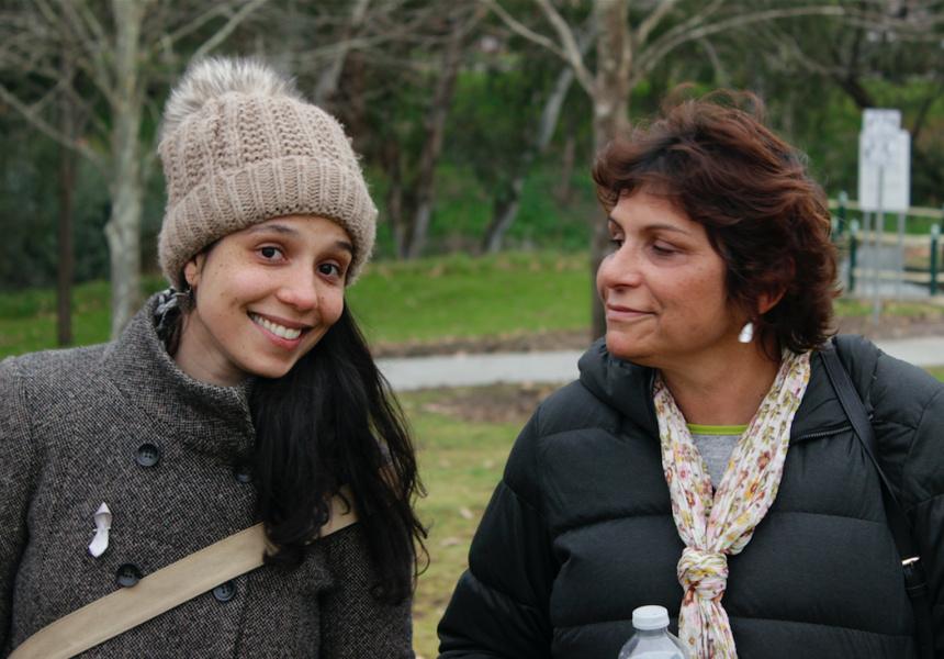 Ella with her Mum, Janna Havelka