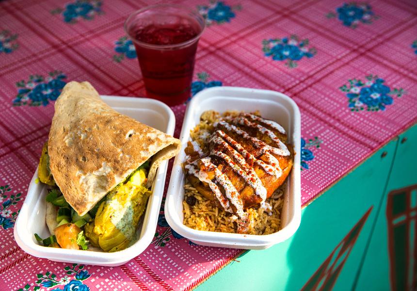 Parwana Afghan Kitchen food stall