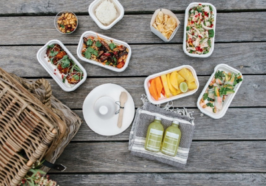 The Floury Baker's Asian Inspired Picnic