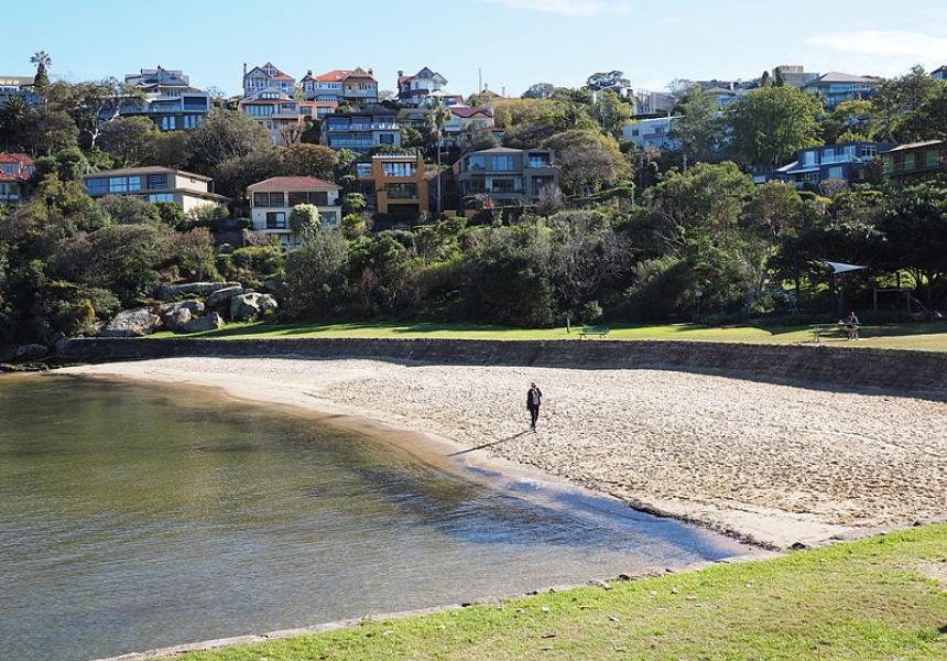 Little Sirius Cove Beach