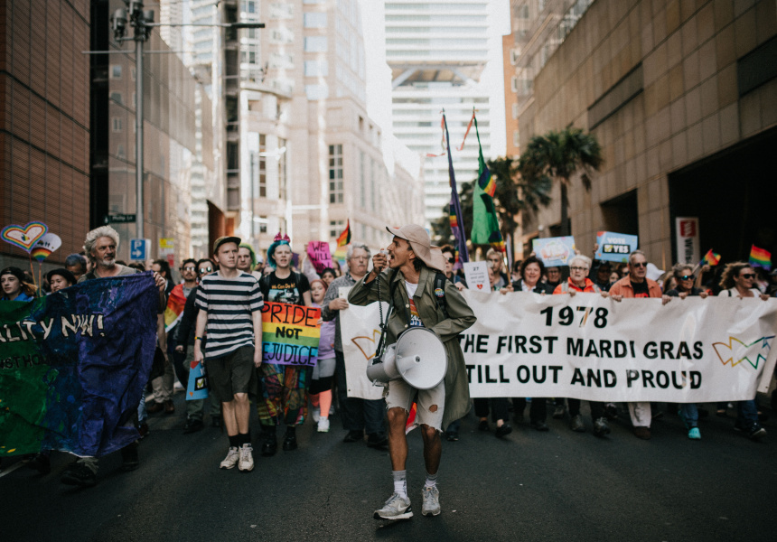BREAKING NEWS  Gallery: Sydney's Marriage Equality Rally  (September 11, 2017)