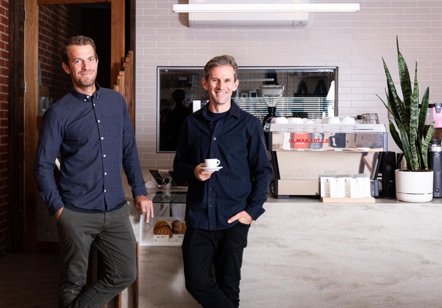 Matt Hampton and Joe Molloy