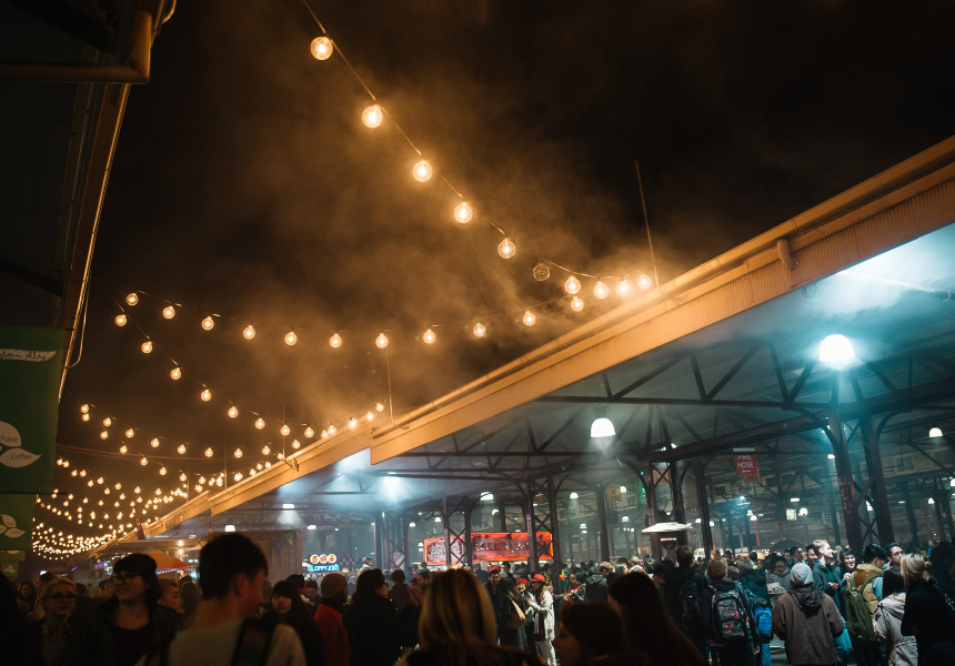 Queen Victoria Winter Night Market