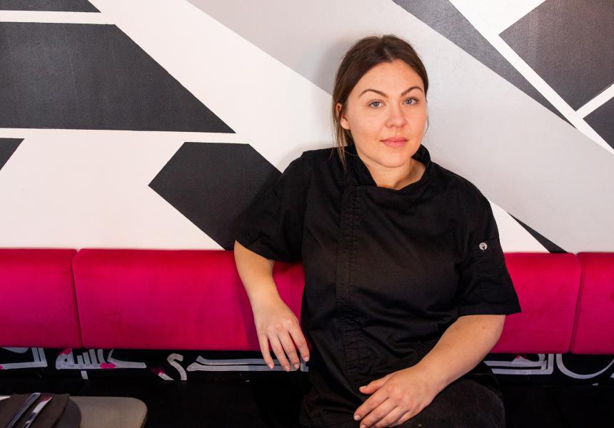 Emily Heron, head chef of The Hummus Club