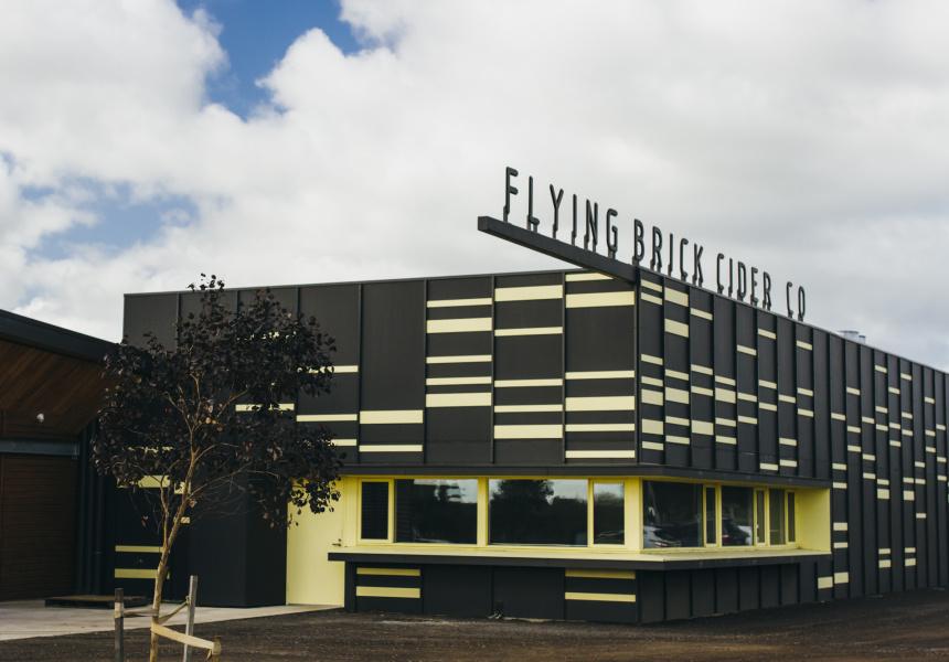 flying brick cider house broadsheet. Black Bedroom Furniture Sets. Home Design Ideas