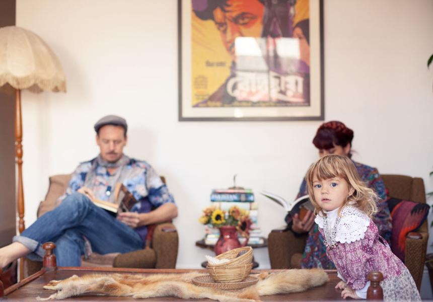 Benjamin, Kaspia and Paloma Rose Gilmour
