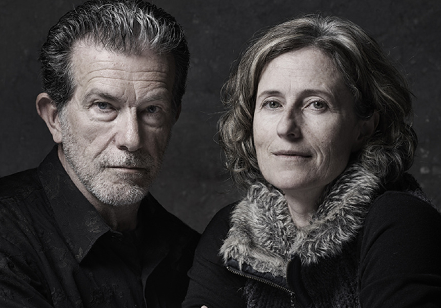 Richard Morecroft & Alison Mackay, Gary Grealy. 2017 National Photographic Portrait Prize winner