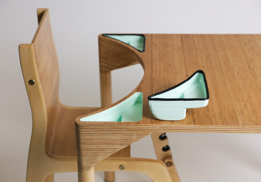 Inclusive Classroom Furniture by Clare Olding