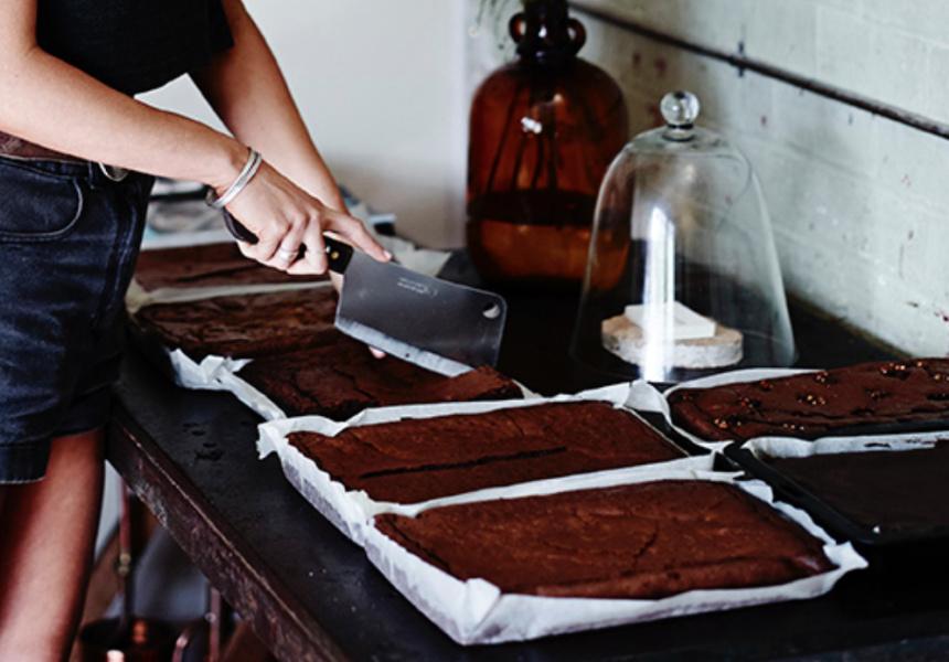 Tomboy's Gluten–Free Chocolate Brownies