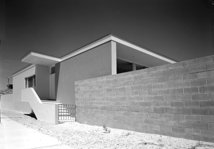 Photographer Max Dupain 1958 © Penelope Seidler. Architect Harry Seidler