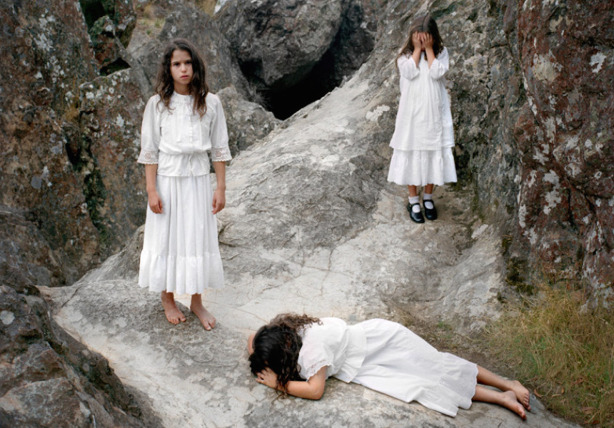 Polixeni  Papapetrou  Hanging Rock 1900 #3 2006 (detail) pigment ink print  Courtesy the artist and Michael Reid Gallery