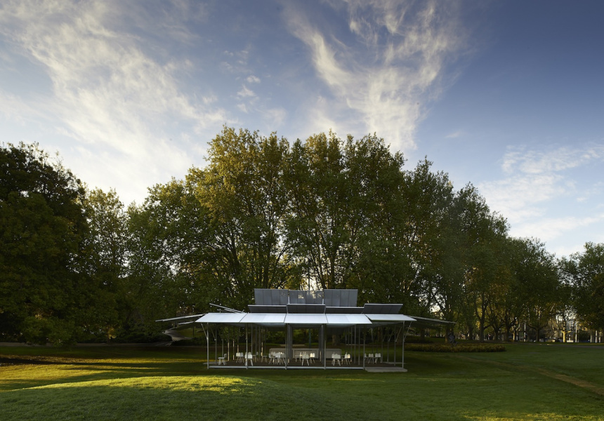 MPavilion 2014 by Sean Godsell