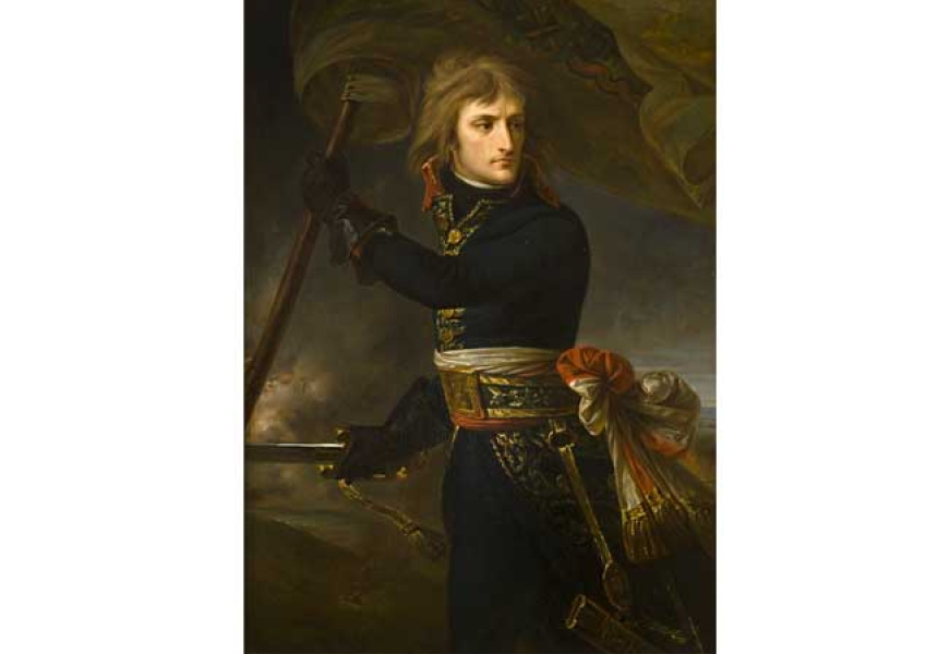Antoine-Jean Gros, General Bonaparte at the Bridge on 17 November 1796, oil on canvas