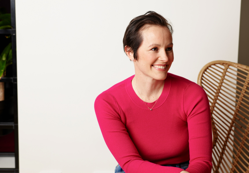 Breast cancer patient Rebecca Angus