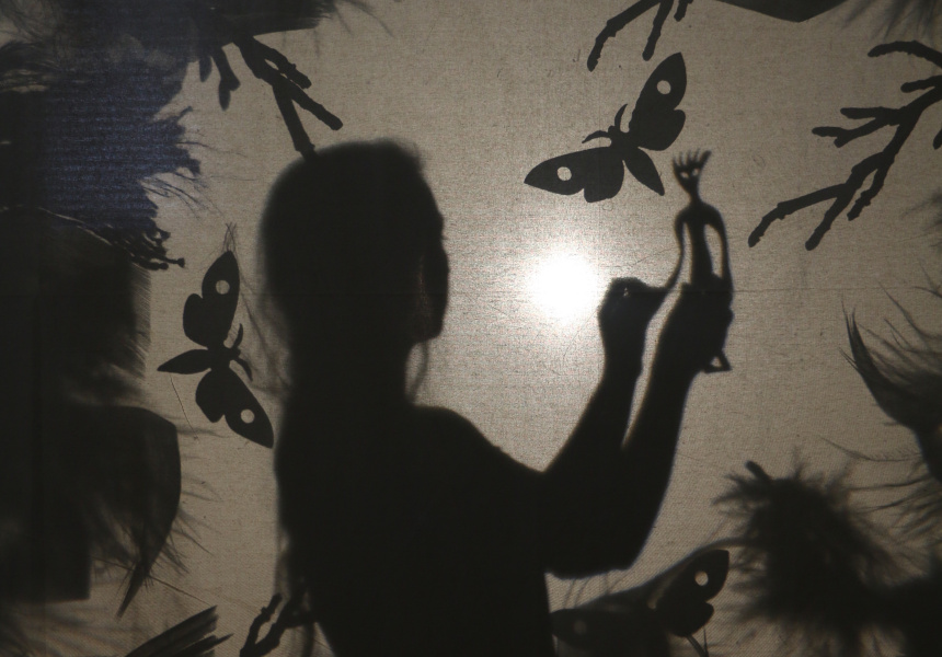 Mary French Shadow Puppet