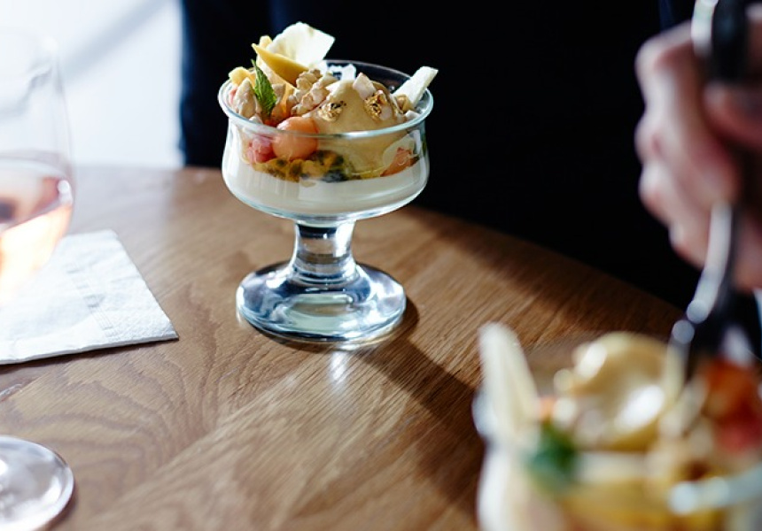 Philippa Sibley's Lime Panna Cotta