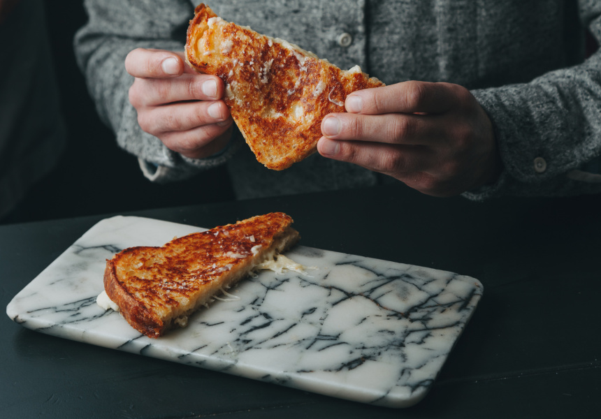 Maker & Monger's Ultimate Cheese Toasty