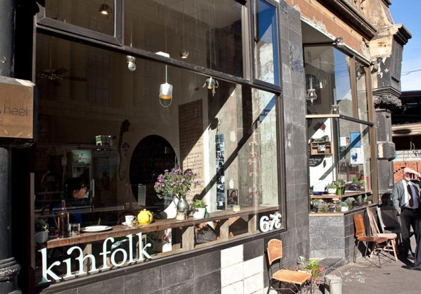 Kinfolk Cafe Broadsheet