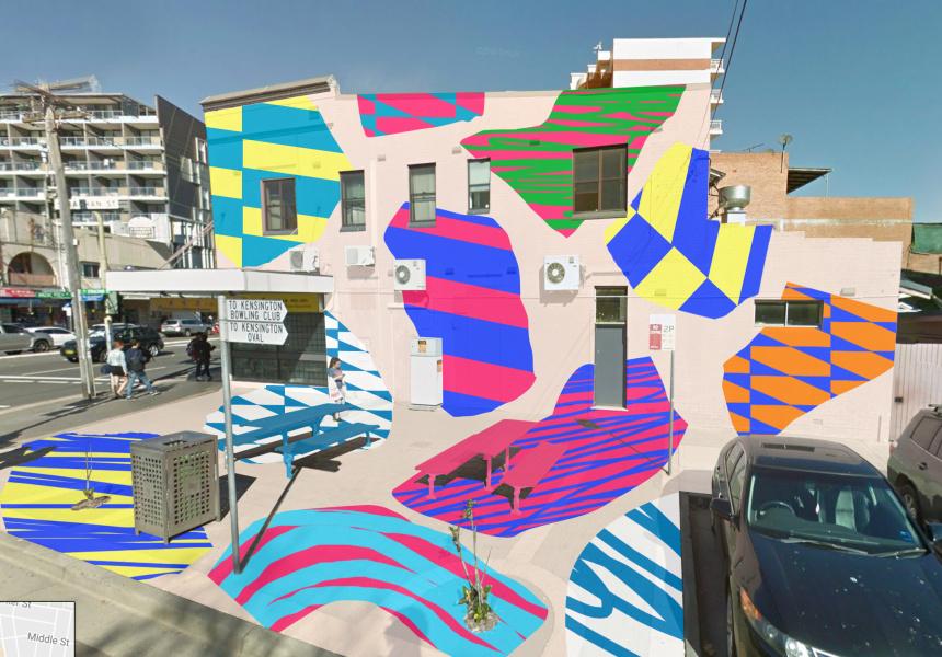 Artist's impression of the Playground, Elliott Routledge