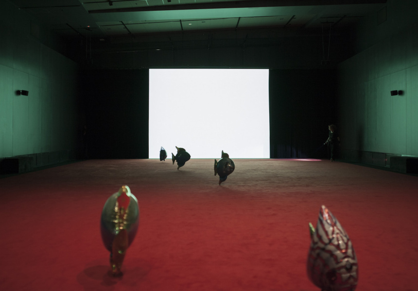 "ACMI exhibition ""Philippe Parreno: Thenabouts"""